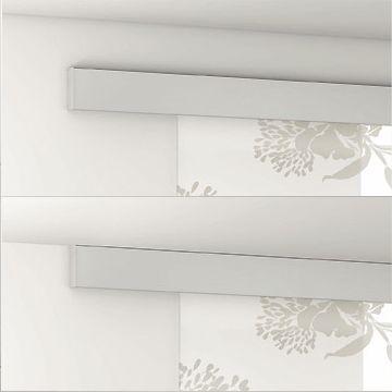 Anclaje frontal o al techo de puertas correderas de vidrio