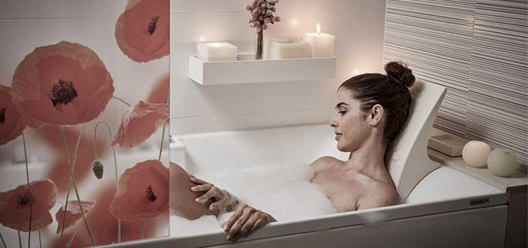 Mamparas CORREDERAS de baño a medida de PROFILTEK