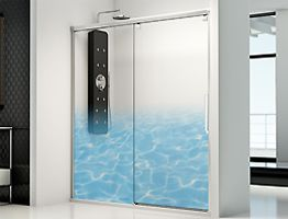 IMAGIK guarantees maximum water resistance onto glass