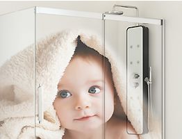 IMAGIK digital printing onto glass with guaranteed photographic technology
