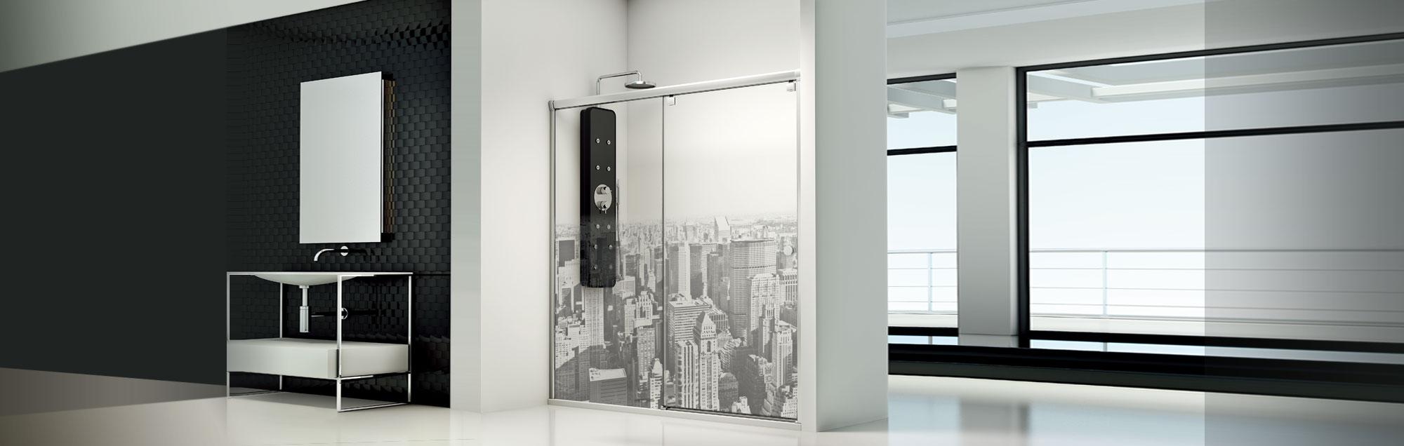 PROFILTEK Duschabtrennungen nach Maß mit Gleittüren
