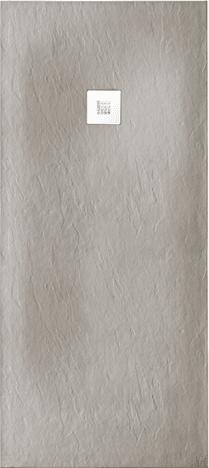 Plato de ducha a medida GOTHAM color antracita