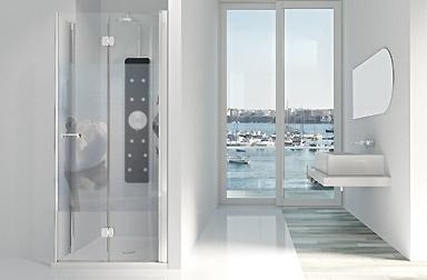 PROFILTEK Serie Arcoiris Plus - Duschabtrennungen mit Falttüren