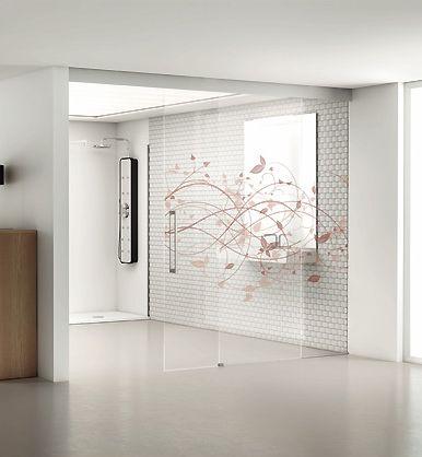 Serie Luxor de puertas correderas de vidrio PROFILTEK
