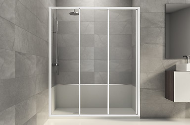 PROFILTEK Standard Collection bathroom enclosures