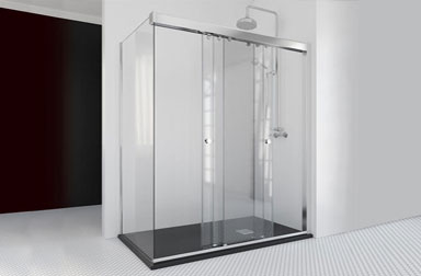 Serie Take sliding shower screens PROFILTEK