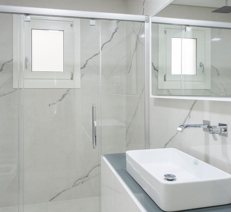 Mamparas baño Profitek Vetro Jardins do Cristo Rei