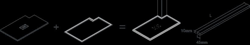 Emolduramento perimetral à medida