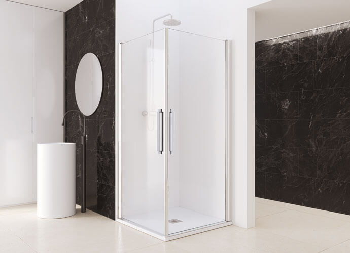 Divisória duche Arcoiris Profiltek AC220