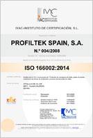 Certificado calidad