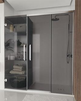 HIT - Divisória de duche corrediça