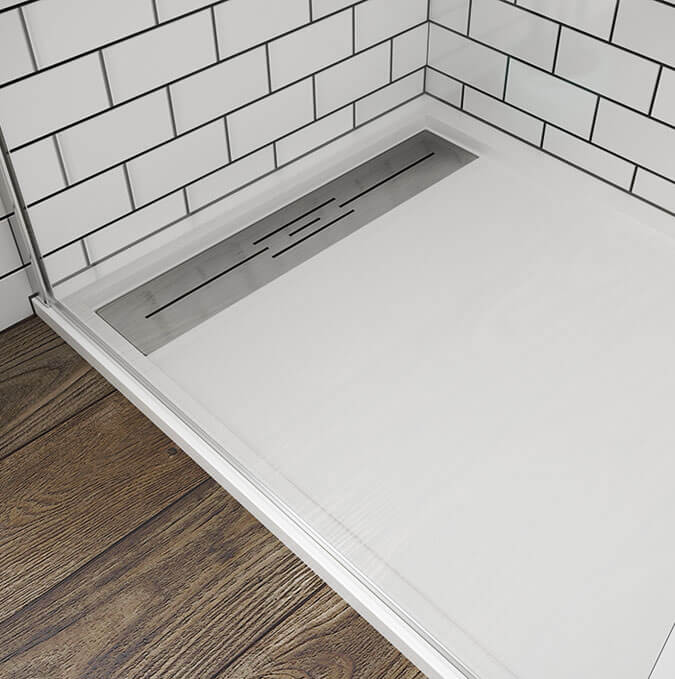 Daray shower trays by PROFILTEK