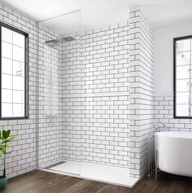 Daray extra flat shower trays by PROFILTEK