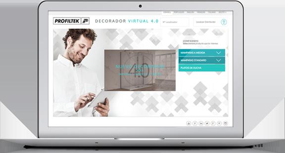 Teknoclean gratis en tu mampara de ba o profiltek for Decorador virtual gratis
