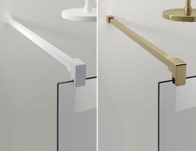 Multi-position bar. Matt White/Matt Gold GALLERY Profiltek