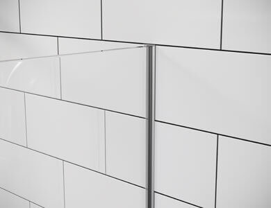 Perfil encastrável na parede OL FIXOS ONE Profiltek