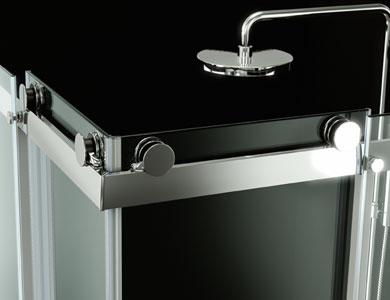 Mampara ducha accesorio pomo Denver Profiltek