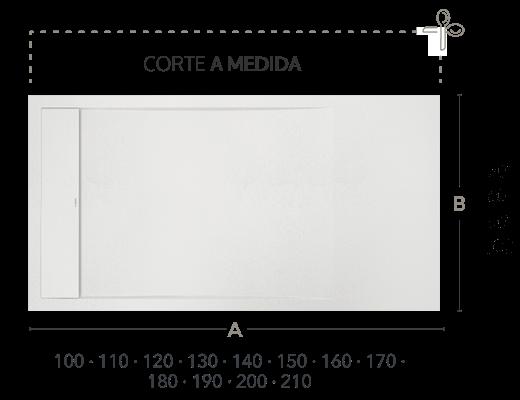 Dimensiones en cm