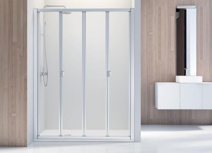 Divisória de duche dobraveis Profiltek du212