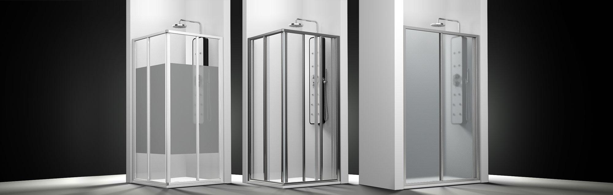 Serie Ecodux de mamparas correderas de ducha a medida