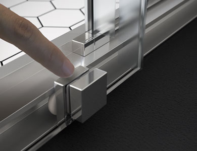 Sistema declipable para fácil limpieza ELMA Profiltek