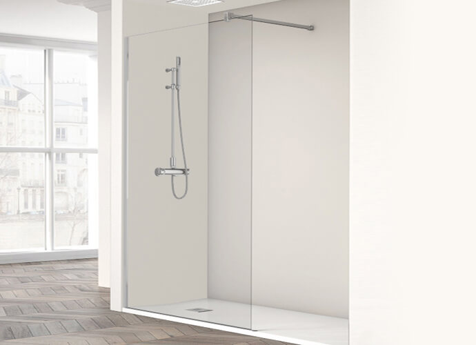 Fixed One shower enclousure Profiltek ob2000