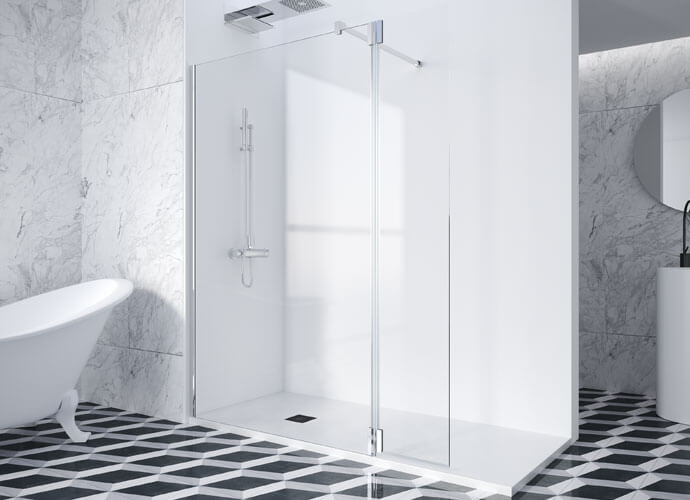 Fixed shower enclousure PF-2000 Profiltek