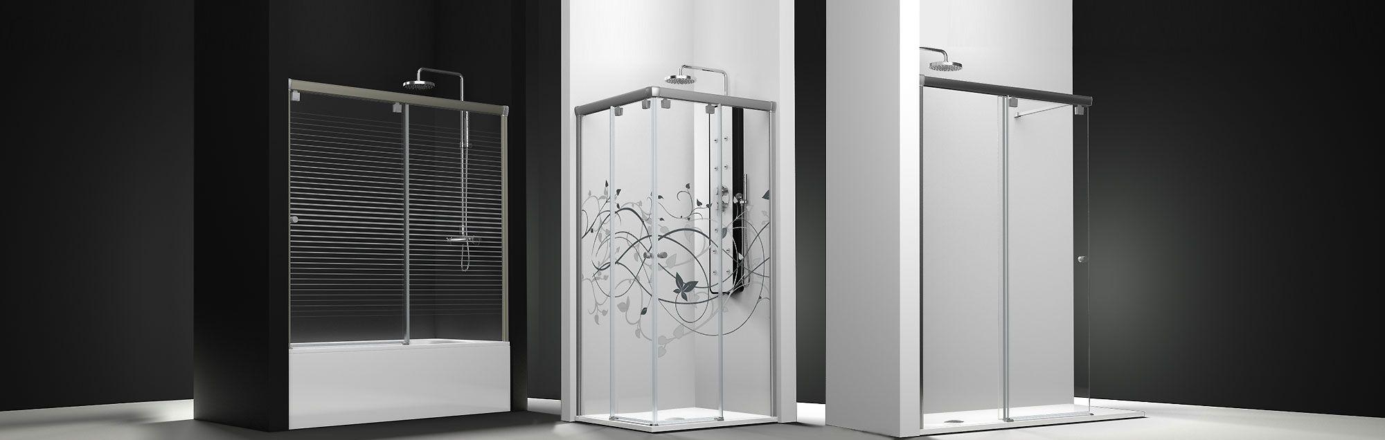 Serie Fresh - Duschabtrennungen nach Maß mit Gleittüren