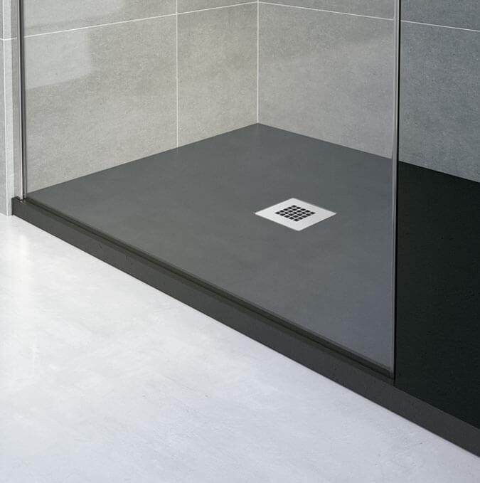 Plato de ducha extraplano a medida Gotham