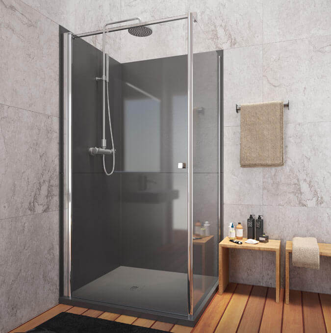 Gotham shower trays by PROFILTEK