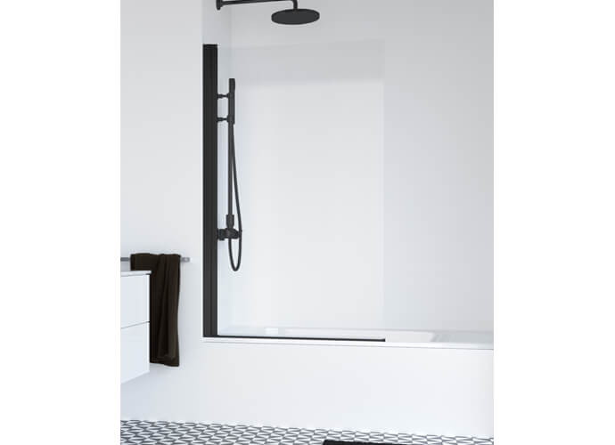 Hada Plus 110 hinged bath enclousure