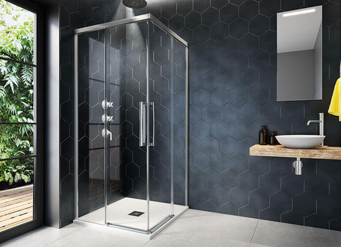 Shower enclousure made to measure hit 220