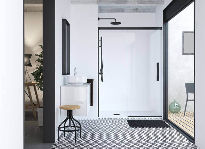 Special shower enclousure for small bathrooms hit 210