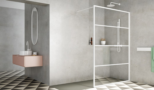 Shower spaces for emotional experiences