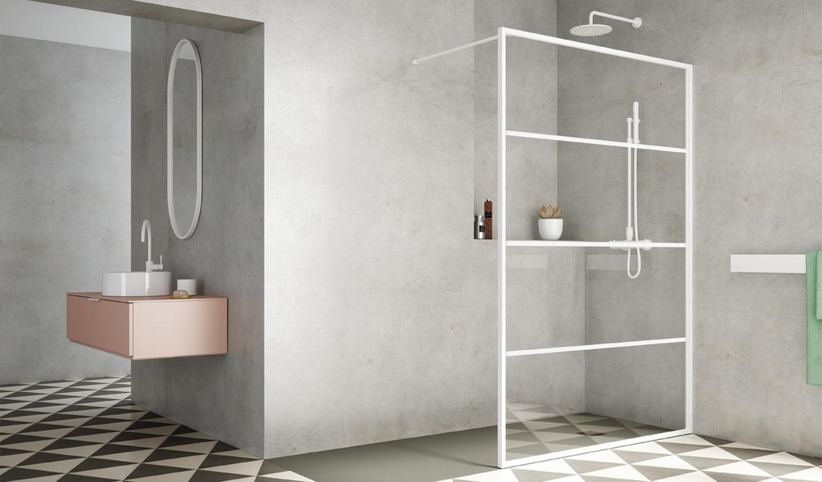 Espaços de duche para vivenciar emoções