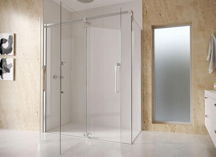 Divisória para duche abatívei a medida Profiltek ke216
