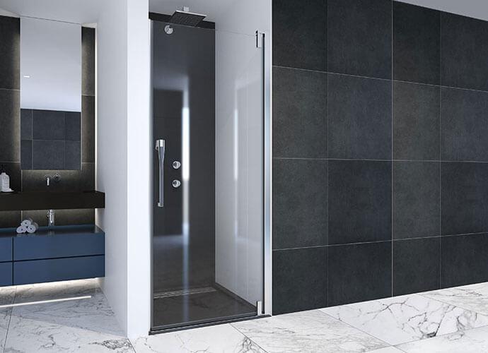 Parois de bain moderne Profiltek ke210