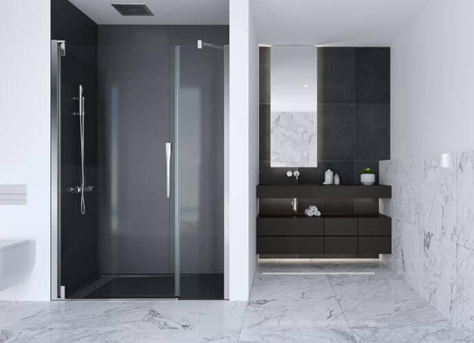 Parois de bain pour la salle de bain Profiltek ke205