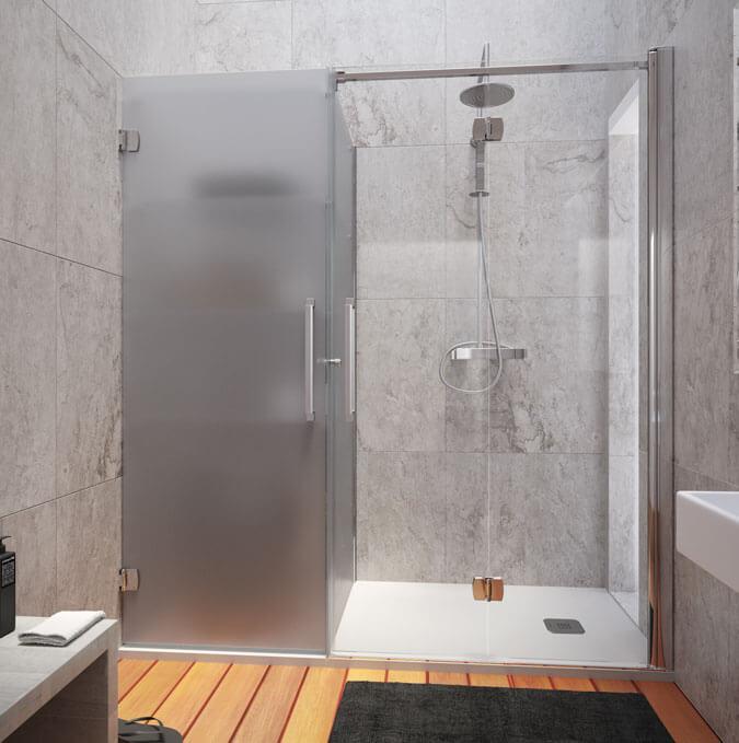 Konvert solución a medida plato de ducha y almacenamiento Profiltek