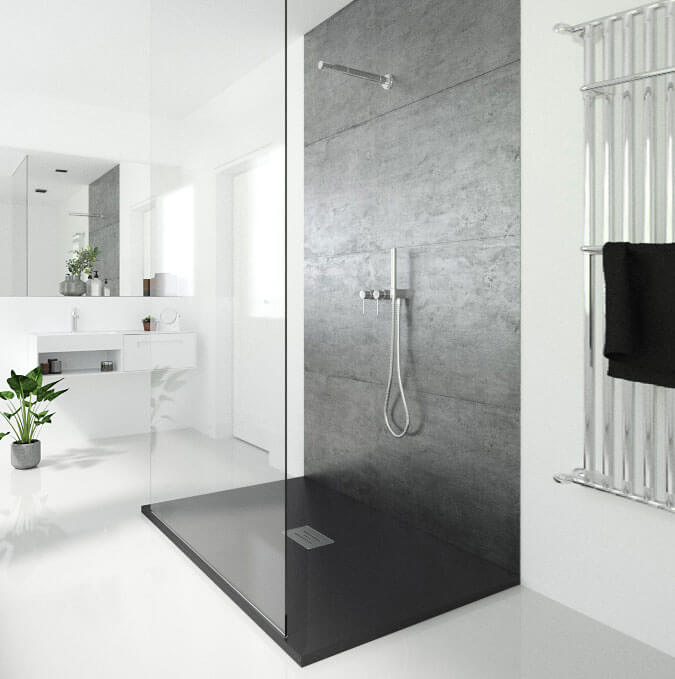 Lotus extra flat shower trays by PROFILTEK