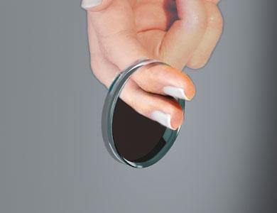Mampara baño accesorio glass hole