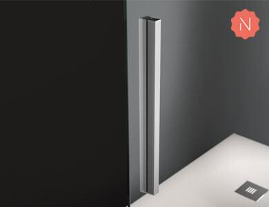 Maneta Luca de serie Cromo Brillo ELMA Profiltek