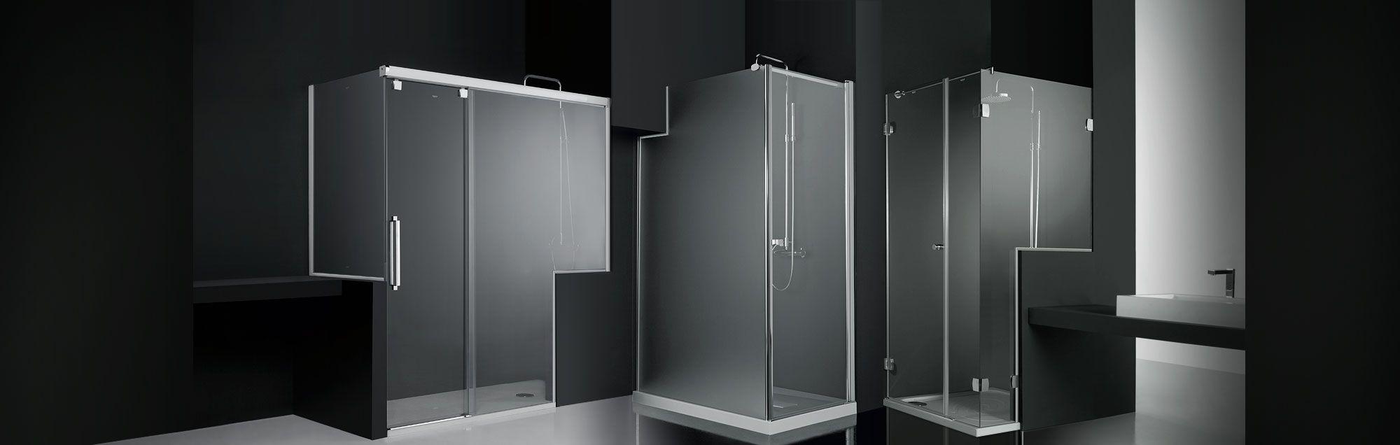 Mamparas para ducha y ba era con soluciones especiales de - Pegatinas para mamparas de bano ...