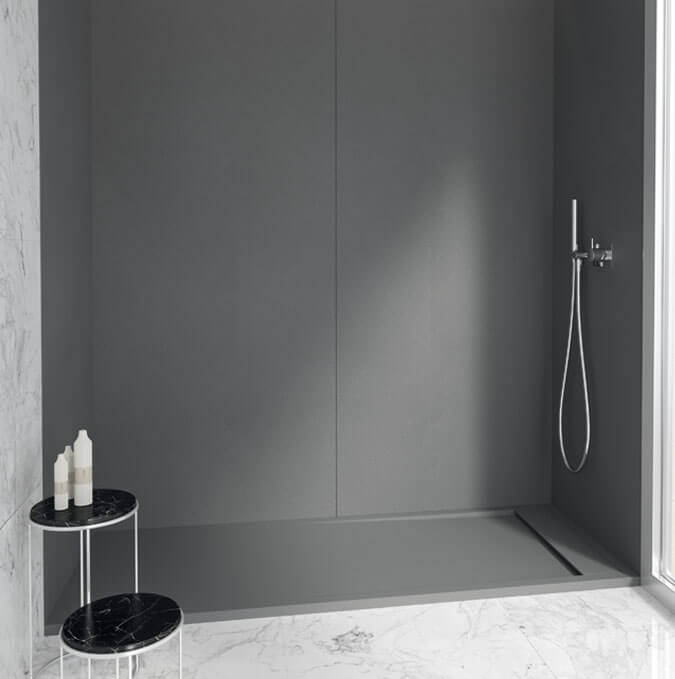 Plato de ducha extraplano tintado Profiltek