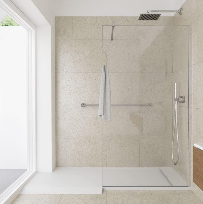 Matis shower trays by PROFILTEK