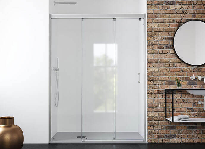 Sliding shower enclousure madre form measure Profiltek