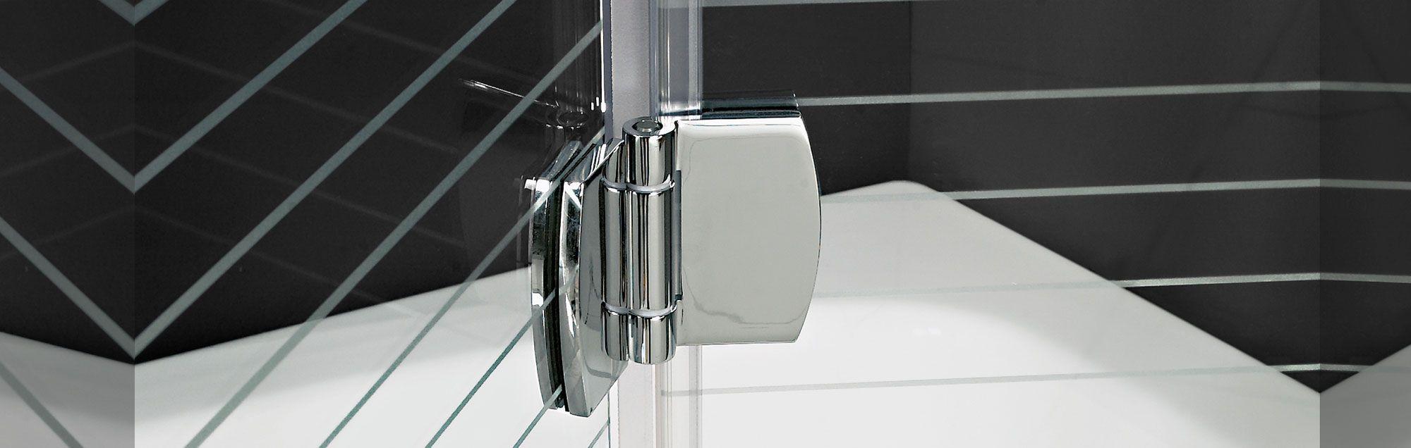 Serie Newglass de mamparas plegables de bañera a medida