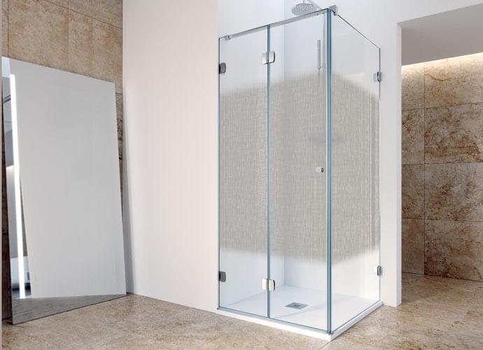 Divisória duche abatível Profiltek ng219