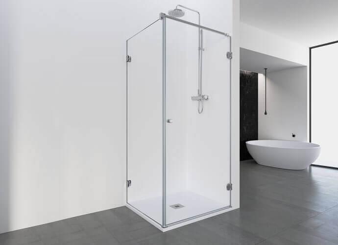 Parois de douche sur mesure pour la douche Profiltek ng208
