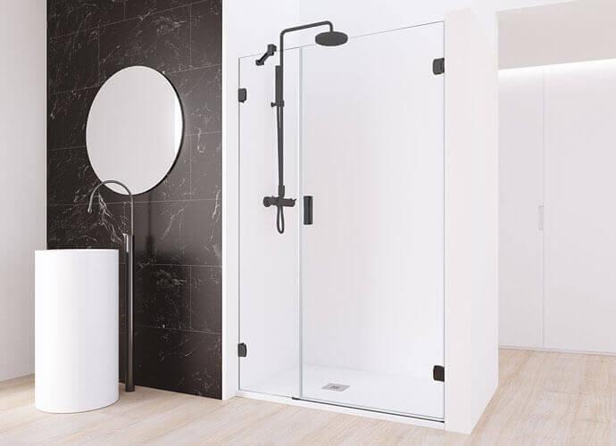 Minimaliste shower enclousire made to measure Profiltek ng205